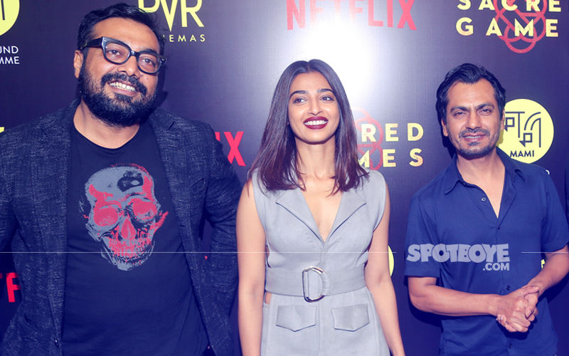 Promotions Are Sacred: Nawazuddin, Radhika & Anurag Reach Delhi To Talk About Their Netflix Series