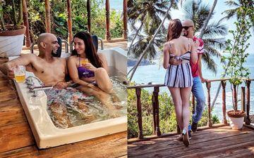 शादी के बाद गोवा में मिनी हनीमून मना रहे हैं रघुराम और नैटली डि लुसियो