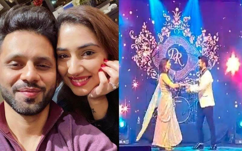 Rahul Vaidya And Disha Parmar Wedding Reception: See The Couple's FIRST Dance As A Married Couple On The Romantic Track 'Dekha Hazaro Dafa' -VIDEO