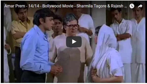 rajesh khanna in amar prem video 2