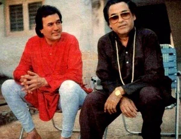 rajesh khanna with kishore kumar