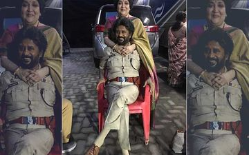 Rajinikanth And Wife Latha Catch Up On A Film Set; Picture Sets Internet On Fire