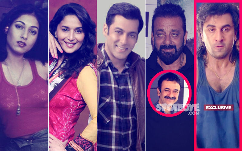 Tina, Madhuri & Salman's Equation With Sanjay Dutt Glorified In Sanju?- Hirani Spills The Beans...