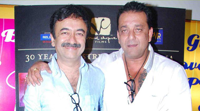 rajkumar hirani with sanjay dutt