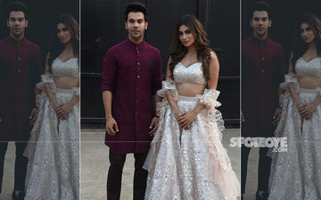 Made In China: Rajkummar Rao And Mouni Roy Ooze Elegance In Ethnic Wear As They Promote Their Film On Nach Baliye 9