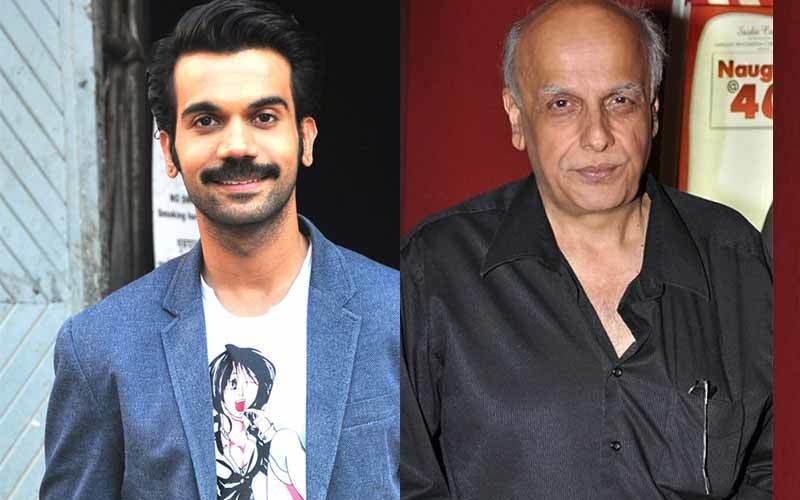 Rajkummar Rao Plays Mahesh Bhatt's Stepmom (almost)!