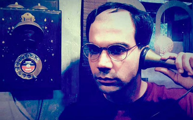 PIC: Rajkummar Rao Partially Shaves His Head To Play Netaji Subhas Chandra Bose