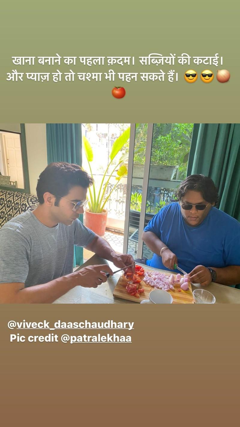 Rajkummar Raos Instagram Story