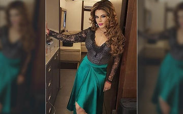 Rakhi Sawant Gyrates In A Sultry Dress At A New Year Party; Opposite To Her 'No Bold' Rule Post Marriage- VIDEO