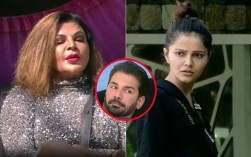 Bigg Boss 14: Rubina Dilaik Slams Rakhi Sawant For Crossing Boundaries While Teasing Abhinav Shukla; Says, 'Mere Pati Ki Izzat Nahi Karegi, I'll Be The First One To Face You'