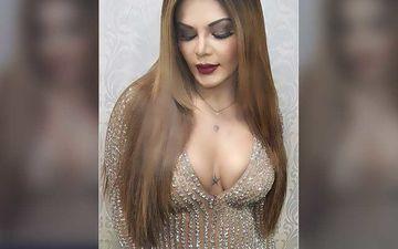 Rakhi Sawant Shares A Glamorous Photo Of Herself While Flaunting Her Cleavage; Fans Ask 'Didi, Yeh Kabki Pic Hai?'