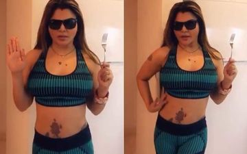 Rakhi Sawant Reunites With Husband In UK; Becomes Aadhe Maa To Solve Netizens' Problems – Watch Video