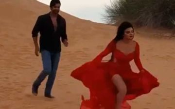 Rakhi Sawant Calls Her Hero 'Thanda' After Trying To Shoot A Sizzling Number With Him– Video