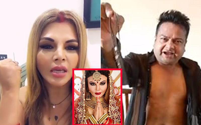 SHOCKING! Deepak Kalal Taken Aback By Rakhi Sawant's Wedding, Demands Rs 4 Cr Within 4 Days; Rakhi Reacts To His Threats- VIDEO