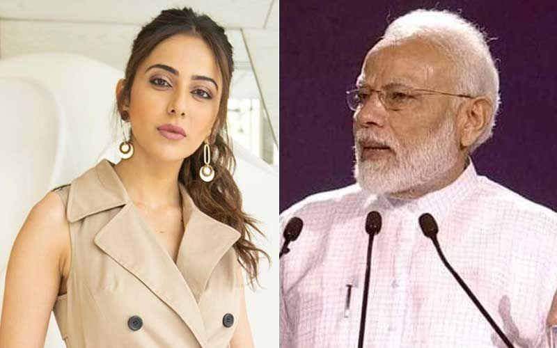 Rakul Preet Singh Congratulates PM Narendra Modi On Fit India Movement; Urges Him To Reduce GST On Fitness Industry