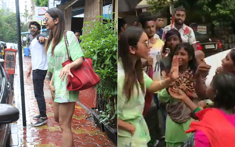 Rakul Preet Singh Mobbed By Urchins; Actress Loses Cool, Beats A Hasty Retreat To Her Car - Watch Video