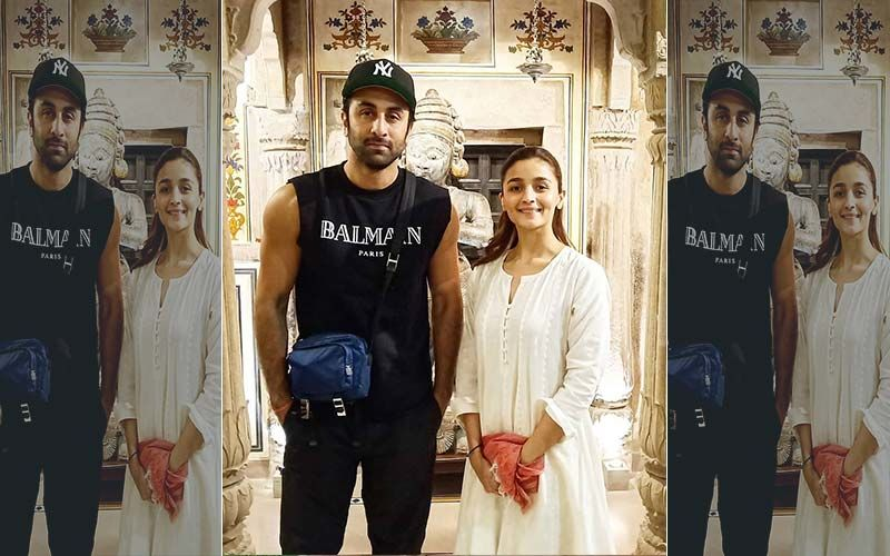 Ranbir Kapoor-Alia Bhatt Shoot For Brahmastra In Varanasi- View Pics