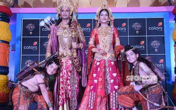 Lord Ram Aka Himanshu Soni And Goddess Sita Aka Shivya Pathania Attend The Launch Of Magnum Opus Show, Ram Siya Ke Luv Kush