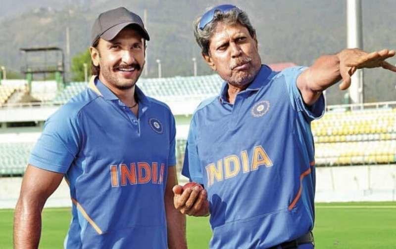 83 के लिए खुद कपिल देव से ट्रेनिंग ले रहे हैं रणवीर सिंह, तस्वीर आई सामने