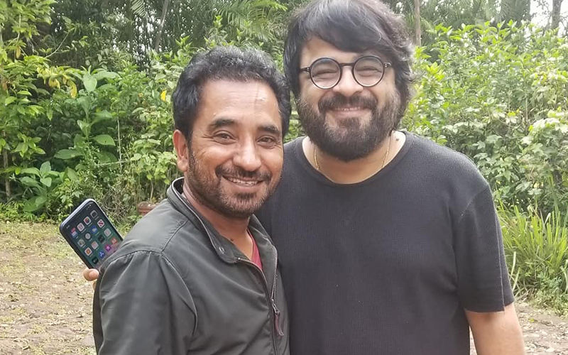 Rana Ranbir Meets Bollywood's Ace Music Director Pritam Chakraborty, Shares Insta Pictures