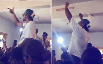 WATCH: Ranveer Singh Brings The House Down At Gully Boy Wrap!