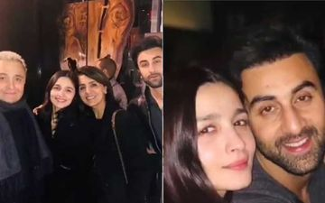 Alia Bhatt Dines With Beau Ranbir Kapoor And His Family In New York – View Pics