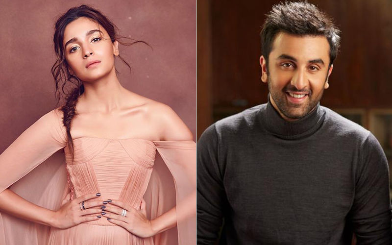 IIFA Awards 2019: Aww-Dorable, Ranbir Kapoor's Babe Alia Bhatt Takes His Special Honour Trophy Home