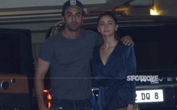 After Spending Quality Time With Beau Ranbir Kapoor, Alia Bhatt Returns To The Bay; Actress Snapped Leaving Airport