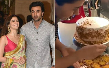 Alia Bhatt Bakes Her Beau Ranbir Kapoor's Favourite Cake On His Birthday: WATCH VIDEO