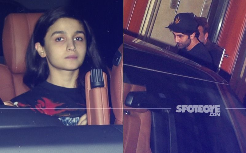 And Again... Alia Bhatt Joins Ranbir Kapoor To Meet Sanjay Dutt