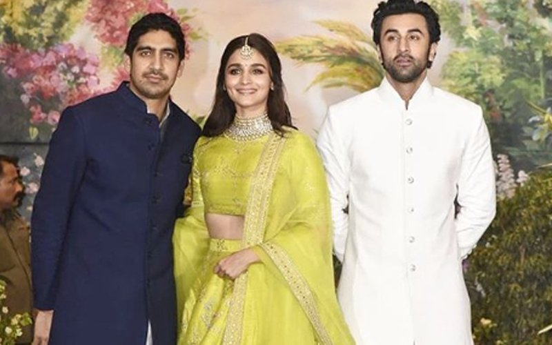 Sonam Kapoor Reception: Ranbir-Alia Make A Joint Appearance With Ayan