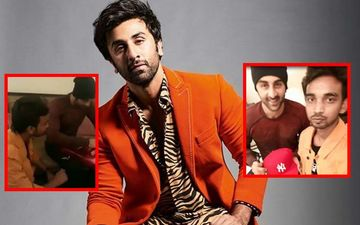 Ranbir Kapoor's Fan Reveals The Reason For Sitting On Floor During Their Meeting- Watch Video