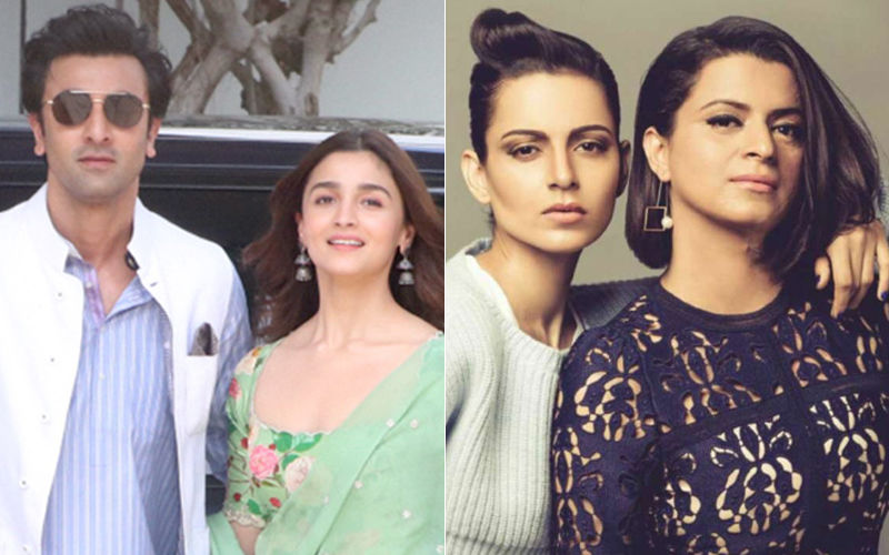 "Here's What Alia Bhatt And Ranbir Kapoor Feel About Being Called ""Pappus"" By Kangana Ranaut's Sister Rangoli Chandel"