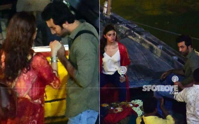 Alia Bhatt-Ranbir Kapoor's Boat Ride In Varanasi – See Pics And Videos