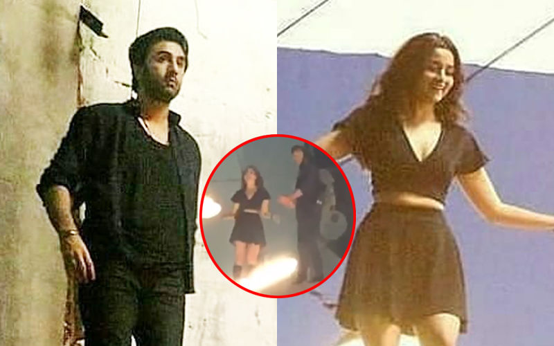 Ranbir Kapoor And Alia Bhatt Shoot For A Stunt Sequence In Brahmastra – Pictures And Video Leaked