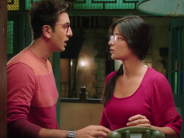 ranbir kapoor and katrina kaif in a still from jagga jasoos