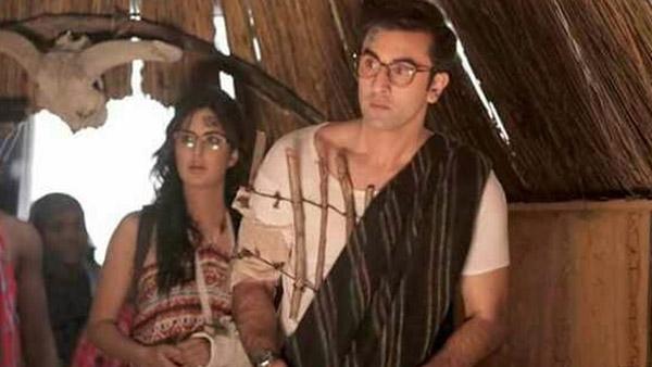 ranbir kapoor and katrina kaif in a still from jagga jasoos