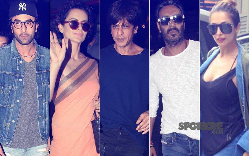 STUNNER OR BUMMER: Ranbir Kapoor, Kangana Ranaut, Shah Rukh Khan, Ajay Devgn Or Malaika Arora?