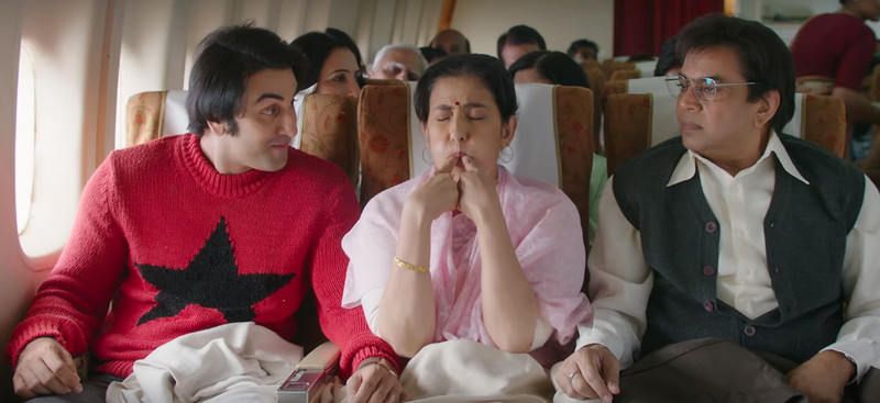 ranbir kapoor manisha koirala and paresh rawal in sanju