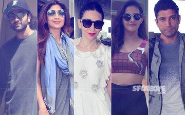 STUNNER OR BUMMER: Ranbir Kapoor, Shilpa Shetty, Karisma Kapoor, Amyra Dastur Or Farhan Akhtar?