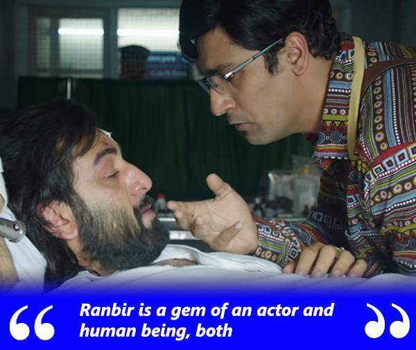 ranbir kapoor with vicky kaushal in sanju