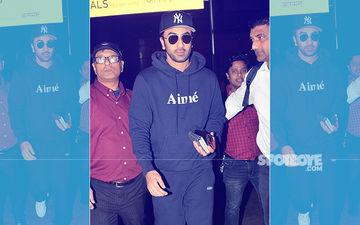 After Dhamakedaar Performances At IIFA, Ranbir Kapoor Returns To The City