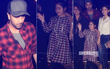 9 Pics That Prove Ranbir's Niece Samara LOVES Paparazzi Attention As Much As He HATES It!