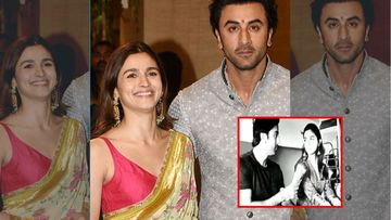 Ranbir Kapoor And Alia Bhatt Make For An Adorable Couple, As They Shoot For An Ad Commercial In A Train – Watch BTS Video