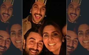 Ranveer Singh, Ranbir Kapoor Pose For An Adorable Selfie With Neetu Kapoor In Rajasthan; Actors To Ring In New Year Together?