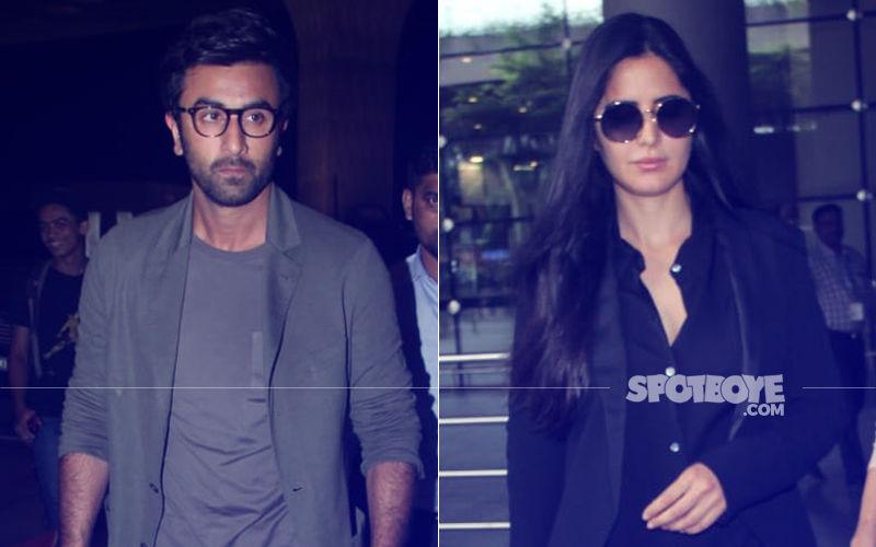 Ranbir Kapoor And Katrina Kaif Slay Airport Fashion In Cool Casuals