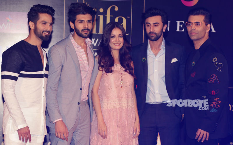 Ranbir, Shahid Kapoor, KJo & Kartik Aaryan: Here's What the Boys Are Upto In Delhi...