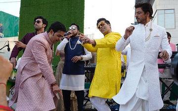 Akash Ambani Baraat videos: बारात में जमकर नाचें शाहरुख़ खान, रणबीर कपूर और करण जौहर, देखिए वीडियों