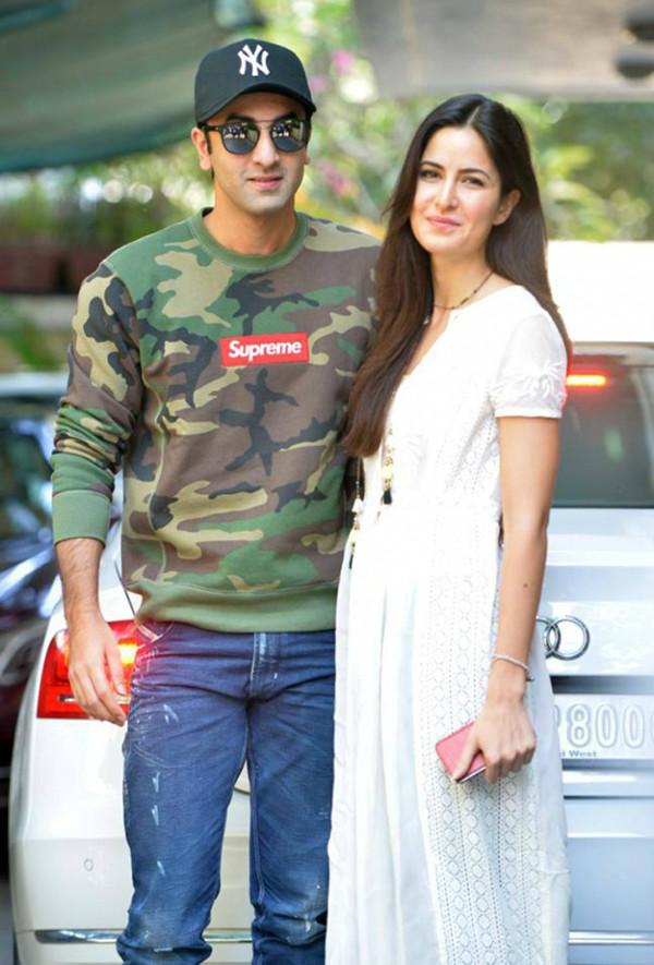 Ranbir Kapoor And Katrina Kaif In Happier Times
