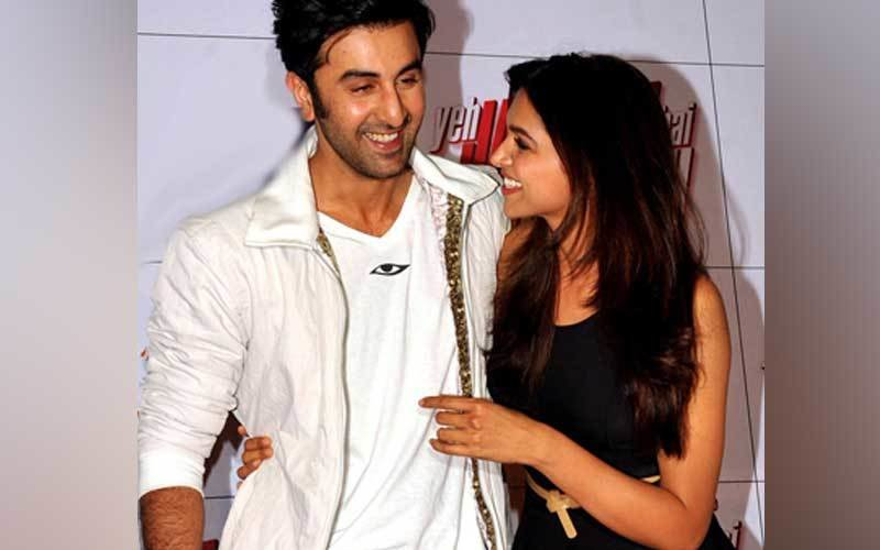 Ranbir Expresses Love To Deepika With Roses